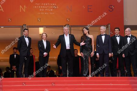 David Lisnard, Frederique Bredin, Alain Delon, Anouchka Delon and Franck Riester