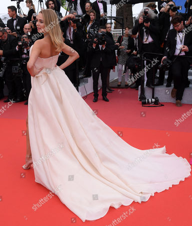 Editorial image of 'A Hidden Life' premiere, 72nd Cannes Film Festival, France - 19 May 2019