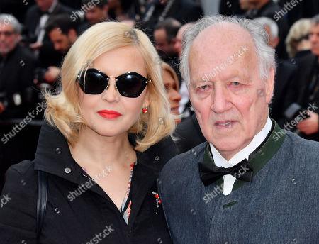Lena Herzog and Werner Herzog