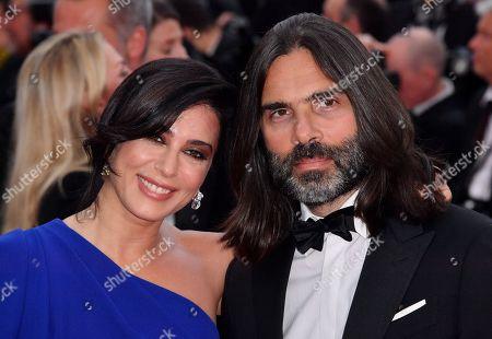 Stock Image of Nadine Labaki and Khaled Mouzanar