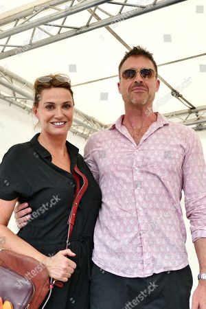 Sarah Parish her Husband James Murray who raise money for The Murray Parish Trust dedicated to the advancement of paediatric emergency medicine across the South of England.