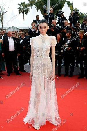 Ming Xi arrives for the screening of 'A Hidden Life' during the 72nd annual Cannes Film Festival, in Cannes, France, 19 May 2019. The movie is presented in the Official Competition of the festival which runs from 14 to 25 May.