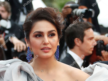 Huma Qureshi arrives for the screening of 'A Hidden Life' during the 72nd annual Cannes Film Festival, in Cannes, France, 19 May 2019. The movie is presented in the Official Competition of the festival which runs from 14 to 25 May.