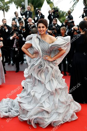 Stock Photo of Huma Qureshi arrives for the screening of 'A Hidden Life' during the 72nd annual Cannes Film Festival, in Cannes, France, 19 May 2019. The movie is presented in the Official Competition of the festival which runs from 14 to 25 May.
