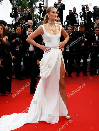 Stock Image of Toni Garn arrives for the screening of 'A Hidden Life' during the 72nd annual Cannes Film Festival, in Cannes, France, 19 May 2019. The movie is presented in the Official Competition of the festival which runs from 14 to 25 May.