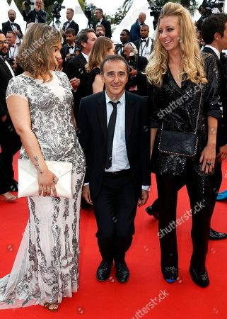Elie Semoun (C) arrives with guests for the screening of 'A Hidden Life' during the 72nd annual Cannes Film Festival, in Cannes, France, 19 May 2019. The movie is presented in the Official Competition of the festival which runs from 14 to 25 May.