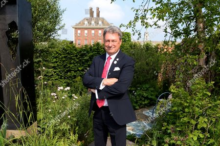 Alan Titchmarsh on the Viking Cruises' 'The Art of Viking Garden' at RHS Chelsea Flower Show'