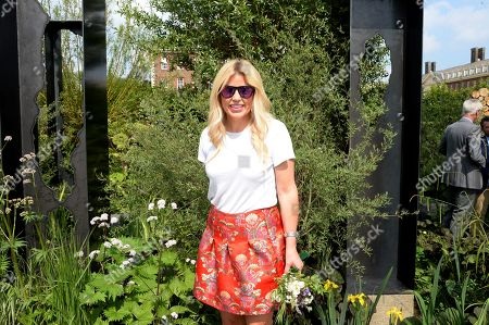 Stock Picture of Ellie Harrison on the Viking Cruises' 'The Art of Viking Garden' at RHS Chelsea Flower Show'