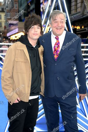 Stock Picture of Elliott Spencer and Stephen Fry