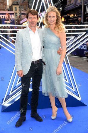 James Blunt and Sofia Wellesley