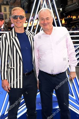 Christopher Sherwood and Paul Gambaccini