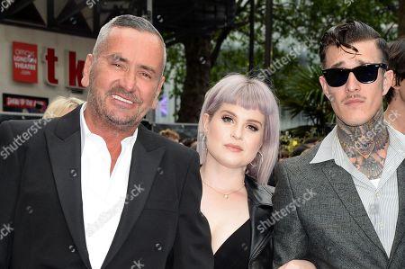 Fat Tony, Kelly Osbourne and Jimmy Q