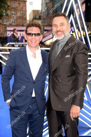 Nick Candy and David Walliams