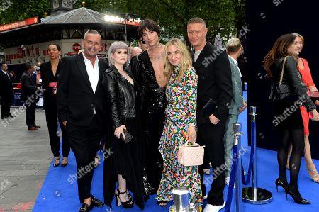 Fat Tony, Kelly Osbourne, Kyle De'volle, Meg Mathews and guests