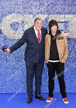 Stock Photo of Stephen Fry and Elliott Spencer
