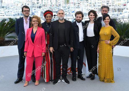 Stock Photo of Flavia Gusmao, Rodrigo Teixeira, Barbara Santos, Karim Ainouz, Carol Duarte, Gregorio Duvivier, Julia Stockler and Michael Weber