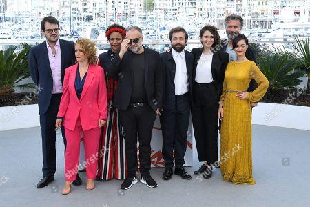 Flavia Gusmao, Rodrigo Teixeira, Barbara Santos, Karim Ainouz, Carol Duarte, Gregorio Duvivier, Julia Stockler and Michael Weber