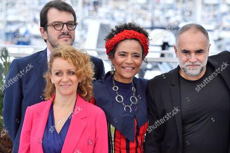 Flavia Gusmao, Rodrigo Teixeira, Barbara Santos and Karim Ainouz