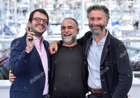 Rodrigo Teixeira, Karim Ainouz and Michael Weber