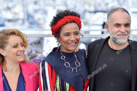Flavia Gusmao, Barbara Santos and Karim Ainouz