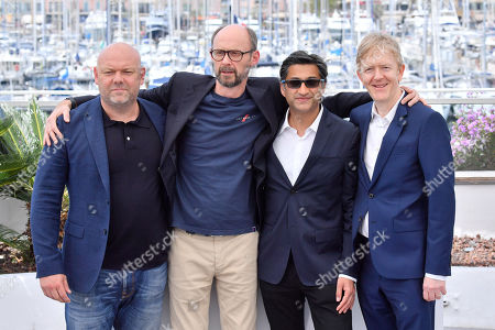 Stock Picture of Paul Martin, James Gay-Rees, Asif Kapadia and Chris King