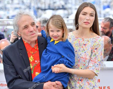 Abel Ferrara, Anna Ferrara and Cristina Chiriac