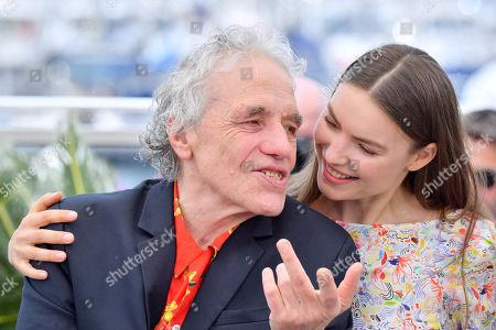 Abel Ferrara and Cristina Chiriac