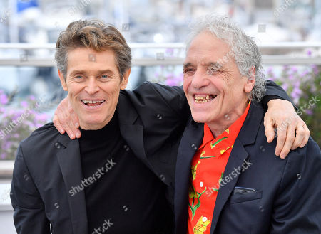 Willem Dafoe and Abel Ferrara