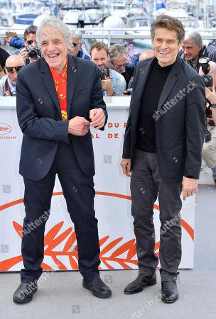 Abel Ferrara and Willem Dafoe