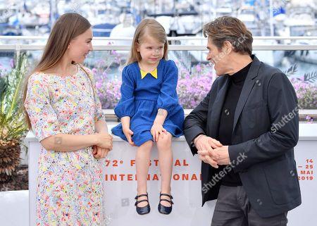Cristina Chiriac, Anna Ferrara and Willem Dafoe