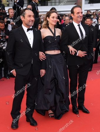 Gilles Lellouche, Marion Cotillard and Jean Dujardin