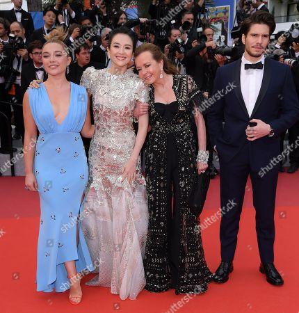 Florence Pugh, Zhang Ziyi, Carloine Scheufele and Francois Civil