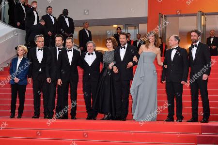 Guillaume Canet, Daniel Auteuil, Fanny Ardant, Nicolas Bedos, Doria Tillier, Denis Podalydes and Denis Pineau-Valencienne