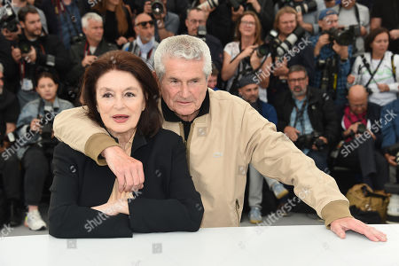Claude Lelouch and Anouk Aimee
