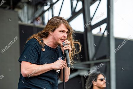 Brett Emmons of The Glorious Sons performs at the Sonic Temple Art and Music Festival at Mapfre Stadium, in Columbus, Ohio