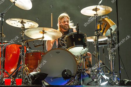 Taylor Hawkins of the Foo Fighters performs at the Sonic Temple Art and Music Festival at Mapfre Stadium, in Columbus, Ohio