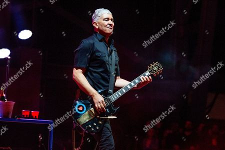 Stock Picture of Pat Smear of the Foo Fighters performs at the Sonic Temple Art and Music Festival at Mapfre Stadium, in Columbus, Ohio