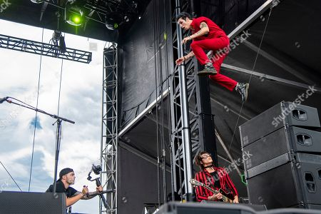 Remington Leith of Palaye Royale performs at the Sonic Temple Art and Music Festival at Mapfre Stadium, in Columbus, Ohio