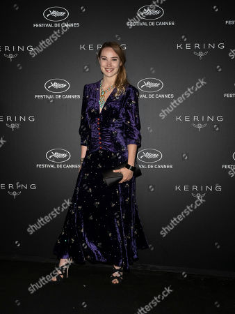 Deborah Francois poses during the Kering Women in Motion Awards at the 72nd annual Cannes Film Festival, in Cannes, France, 19 May 2019. The festival runs from 14 to 25 May.