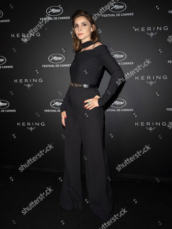 Clotilde Courau poses during the Kering Women in Motion Awards at the 72nd annual Cannes Film Festival, in Cannes, France, 19 May 2019. The festival runs from 14 to 25 May.