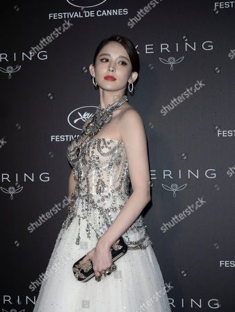 Stock Image of Coulee Nazha poses during the Kering Women in Motion Awards at the 72nd annual Cannes Film Festival, in Cannes, France, 19 May 2019. The festival runs from 14 to 25 May.
