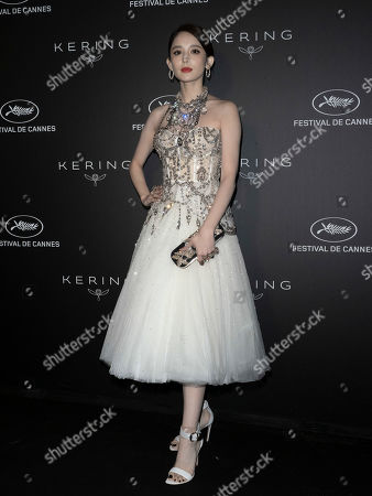 Coulee Nazha poses during the Kering Women in Motion Awards at the 72nd annual Cannes Film Festival, in Cannes, France, 19 May 2019. The festival runs from 14 to 25 May.