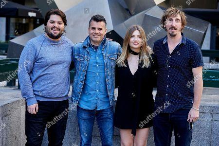 Brays Efe, Carlos Martín Ferrera, Miriam Giovanelli and Ivan Massague