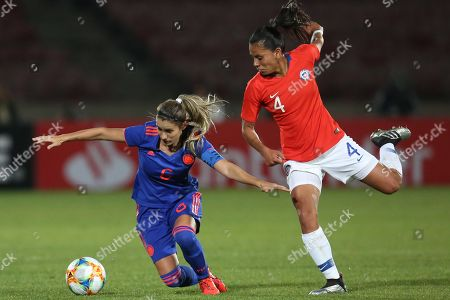 Editorial picture of Chile vs. Colombia - 2019 Women's International Friendly, Santiago - 19 May 2019