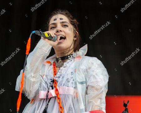 Stock Photo of Pussy Riot - Nadezhda Tolokonnikova (Nadya Tolokno)