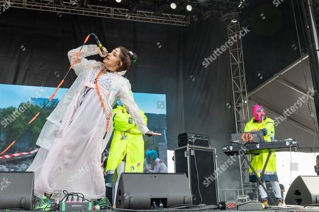 Editorial image of Sonic Temple Music Festival in Columbus, USA - 17 May 2019