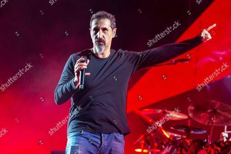 Stock Image of System of a Down - Serj Tankian