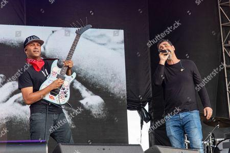 Tom Morello and Serj Tankian