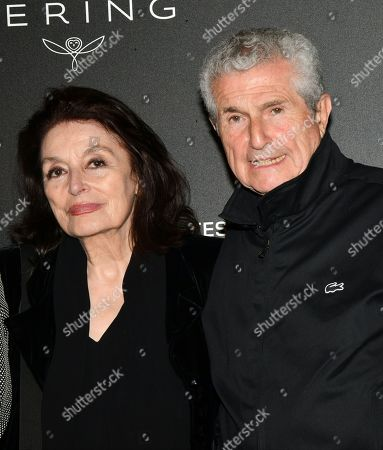Anouk Aimee and Claude Lelouch