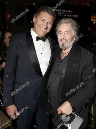 Stock Picture of Steven Bauer and Al Pacino